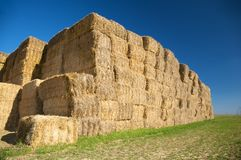 Bales of straw Stock Images