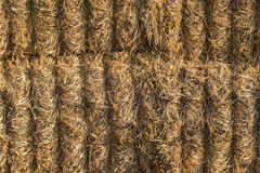 Bales of straw background Royalty Free Stock Photo