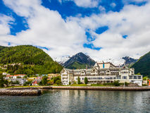 Balestrand Landscape Royalty Free Stock Photo