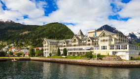 Balestrand Panorama Stock Photos