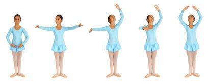 Baletów kroki Fotografia Royalty Free