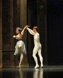 Baletów palec u nogi drugi aktu cukierku po drugie śródpolny królestwo - Baletniczy dziadek do orzechów Fotografia Royalty Free