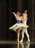 Baletów palec u nogi drugi aktu cukierku po drugie śródpolny królestwo - Baletniczy dziadek do orzechów Obrazy Stock