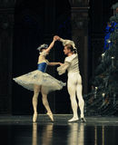 Baletów palec u nogi drugi aktu cukierku po drugie śródpolny królestwo - Baletniczy dziadek do orzechów Zdjęcie Royalty Free
