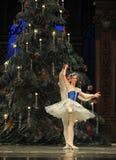 Baletów palec u nogi drugi aktu cukierku po drugie śródpolny królestwo - Baletniczy dziadek do orzechów Obrazy Royalty Free