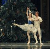 Baletów palec u nogi drugi aktu cukierku po drugie śródpolny królestwo - Baletniczy dziadek do orzechów Zdjęcia Royalty Free