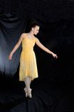 balet pointe Zdjęcia Stock