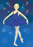 balet tancerzem. Ilustracja Wektor