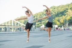 Balet w mieście Obrazy Stock