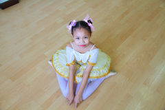 Baletnicza dziewczyna Zdjęcia Stock