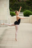 Baletnicza dziewczyna z równowagą i pauzą Zdjęcia Stock