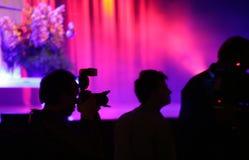 baletnicza filmowanie Obrazy Royalty Free