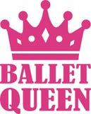 Baletnicza królowa Zdjęcia Royalty Free