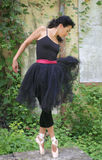 baletnicza piękna tancerka kobieta obraz stock