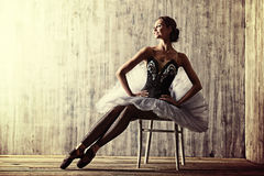 baletnicza piękna tancerza projekta ilustracja Fotografia Royalty Free