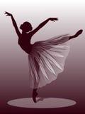 baletnicza piękna tancerza projekta ilustracja ilustracja wektor