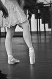 Baletnicza praktyka Zdjęcie Royalty Free
