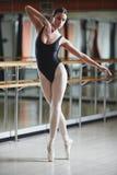 Baletnicza praktyka Zdjęcia Stock