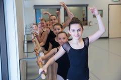 Baletnicza taniec klasa Obrazy Stock