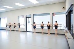 Baletnicza taniec klasa Zdjęcie Stock
