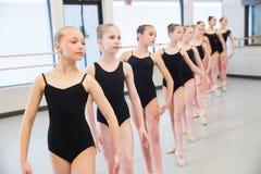 Baletnicza taniec klasa Obraz Stock