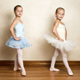 baletnicze dziewczyny Obrazy Royalty Free
