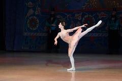 Baletniczego tancerza baleriny taniec podczas baletniczego Corsar Obrazy Royalty Free