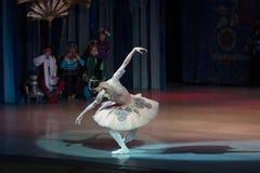 Baletniczego tancerza baleriny taniec podczas baletniczego Corsar Zdjęcie Stock
