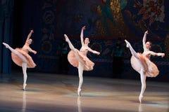 Baletniczego tancerza baleriny taniec podczas baletniczego Corsar Zdjęcia Stock