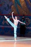 Baletniczego tancerza baleriny taniec podczas baletniczego Corsar Zdjęcia Royalty Free