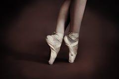 Baletniczy buty Obrazy Royalty Free