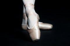 Baletniczy Kapcie Fotografia Royalty Free