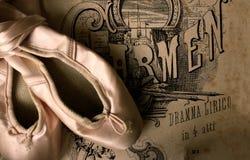 baletniczy kapcie zdjęcie stock