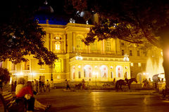 baletniczy Odessa opery teatr Obraz Stock
