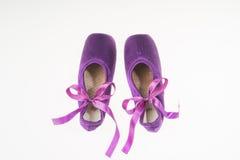 baletniczy pointe buty Obraz Stock
