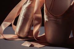 Baletniczy tanów buty Zdjęcia Royalty Free