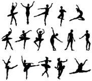 baletniczy tancerz royalty ilustracja