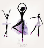 Baletniczy tancerze Obraz Stock