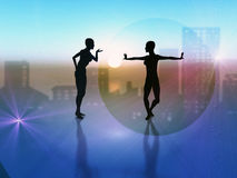 balett Fotografering för Bildbyråer