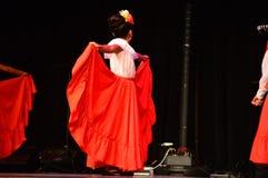 Balett Folklorico de Kulturell Festival Arkivbilder