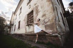 Balett i den gamla staden Royaltyfri Fotografi