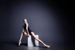 Balett i mörkret Royaltyfri Fotografi