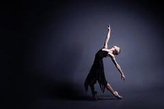 Balett i mörkret Royaltyfri Foto