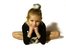balettdansörbarn royaltyfria bilder
