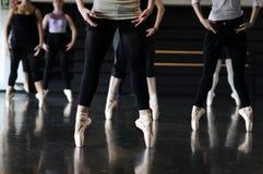 balettdansörer arkivbild