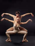balettdansörer Royaltyfria Foton