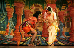balettdansramayana royaltyfri foto