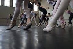 balettdansövning Royaltyfria Bilder
