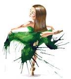 Balettför evigt Royaltyfri Bild