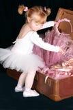 balettflicka Royaltyfri Fotografi
